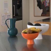 Raawii - Strom bowl medium vibrant orange