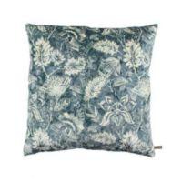 Claudi - Kussen Etnic Flower Ice 45x45 cm. - Grey/Mint