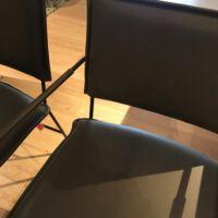 Jess Design - 6x Norman eetkamerstoel leer Bonanza Grey.