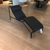 Hay - Chaise Lonque Palissade & pillow - Anthracite
