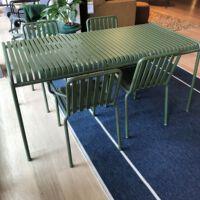 Hay - Tafel & stoelen Palissade - power coated steel kleur Olive