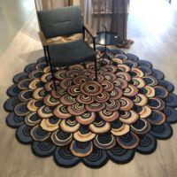 Brink & Campman- Karpet TB Masquerade-Blue 160008 200 cm Ø