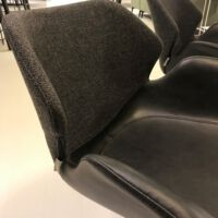 Zuiver - 2x Armchair Nikki - Fabric Black
