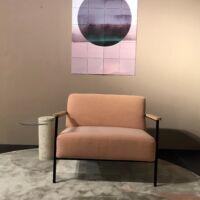Studio Henk - Fauteuil Co Lounge Kvadrat Steelcut Trio 3-515