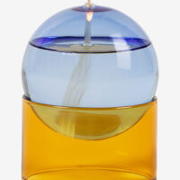 Studio About - Standing Oil Bubble - Low Tube - Blue