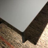 Hay - CPH deux 250 table - Stone grey waterbased laque - stonegrey laminate top