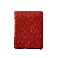 Klippan - Plaid Nova terracotta - woven wool throw