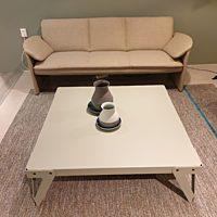 Functionals - tafel Lloyd laag 110x110x36 cm. - parallel.
