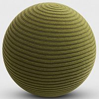 Montis - Poef Beanie kleur gras/pine