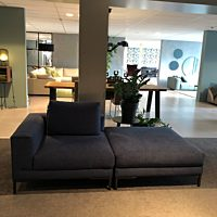 Design on Stock - Hoekelement Aikon Lounge dark stof Zia 522 celestine