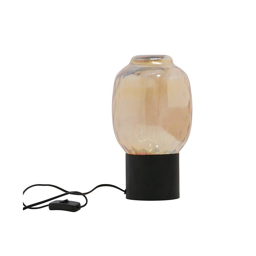 Be pure bubble tafellamp L glass ant brass