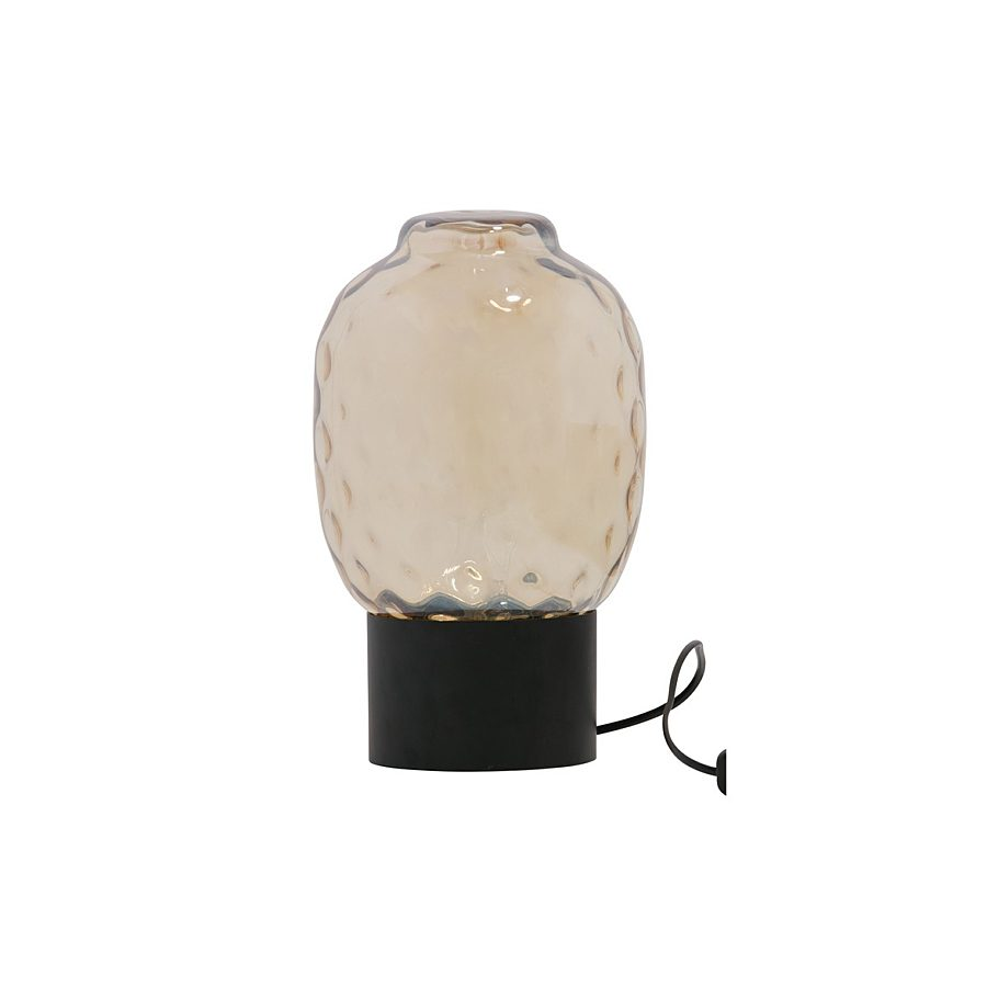 Be pure bubble tafellamp XL glass ant brass