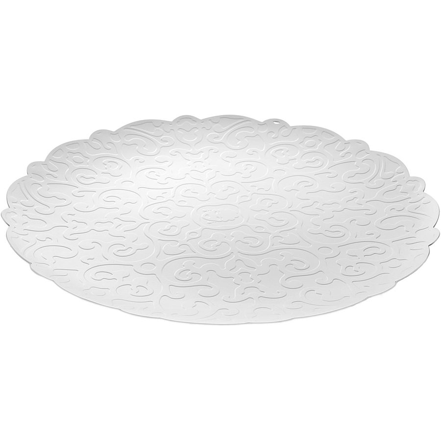Alessi - Dressed round tray wit