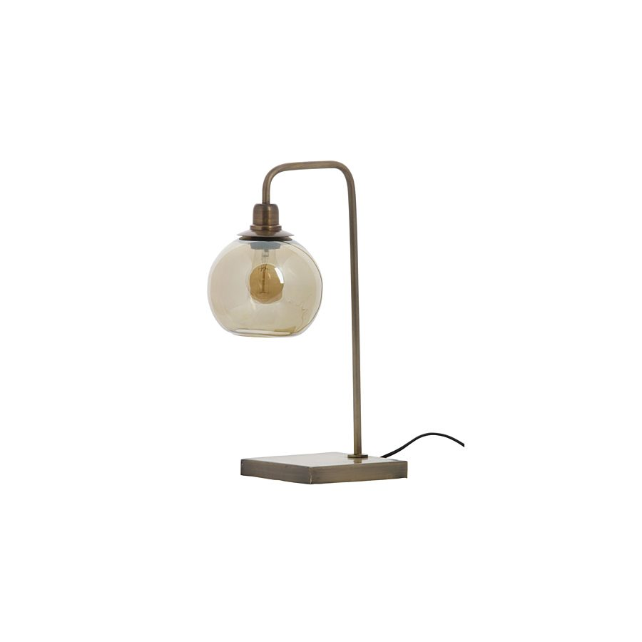 Be pure latern tafellamp metaal antique brass