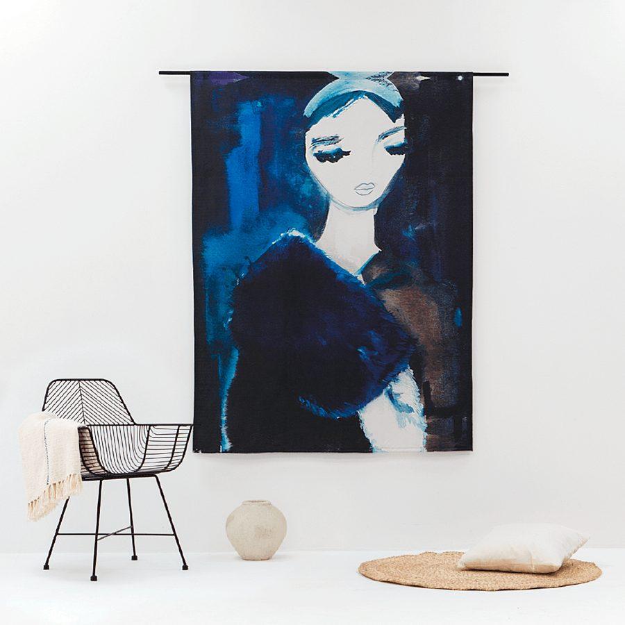 Urban Cotton - Lady in blue L