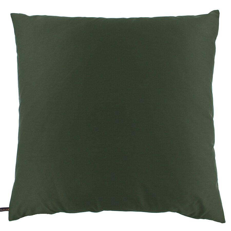 Claudi - Kussen Bibi - Crane velvet dark green - 60x60 cm.