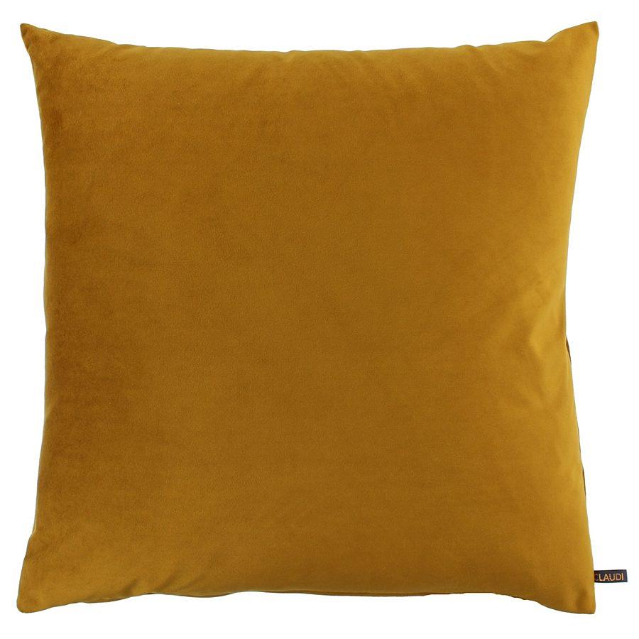 Claudi - Kussen Bibi - Italian velvet Mustard - 40x60 cm.