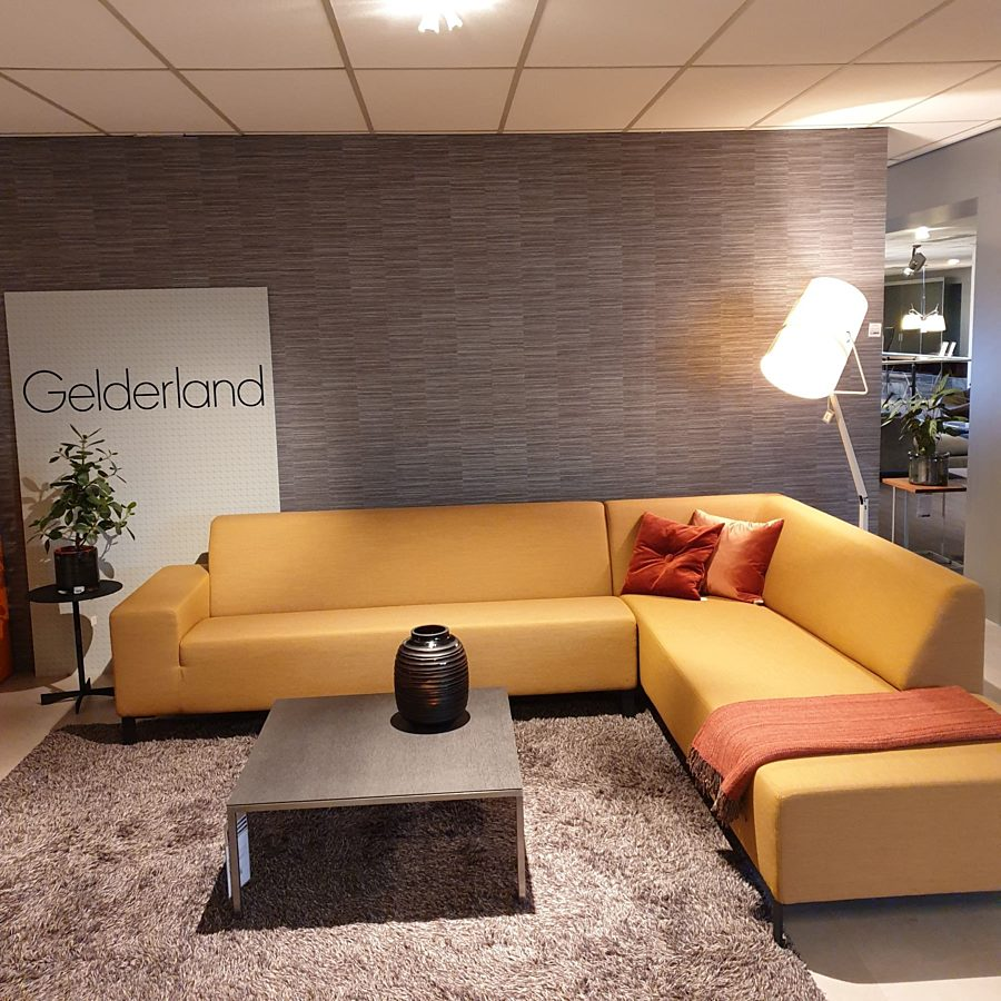 Gelderland - 6511 Hoekbank stof Fiord 451.