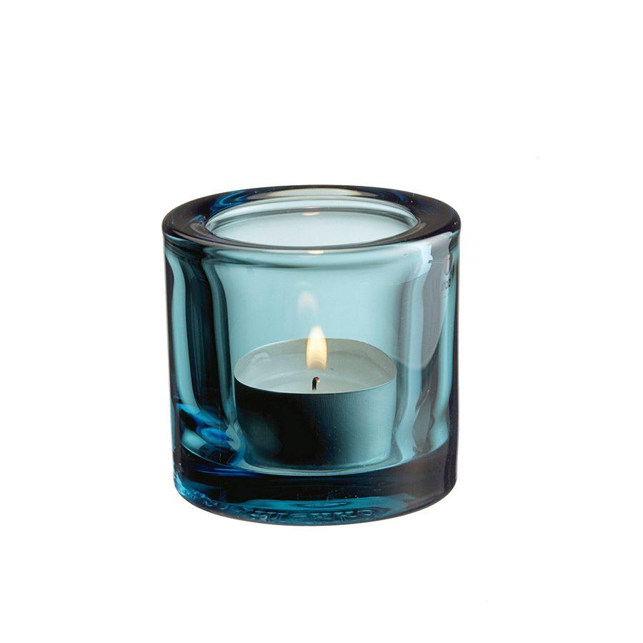 Iittala - Kivi votive candleholder 60mm. zeeblauw - 1007148