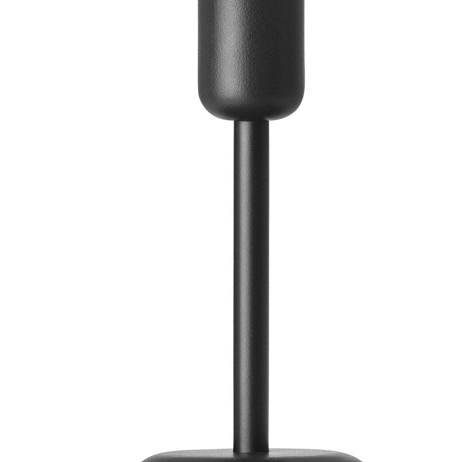 iittala - Nappula candle holder 183mm dark grey
