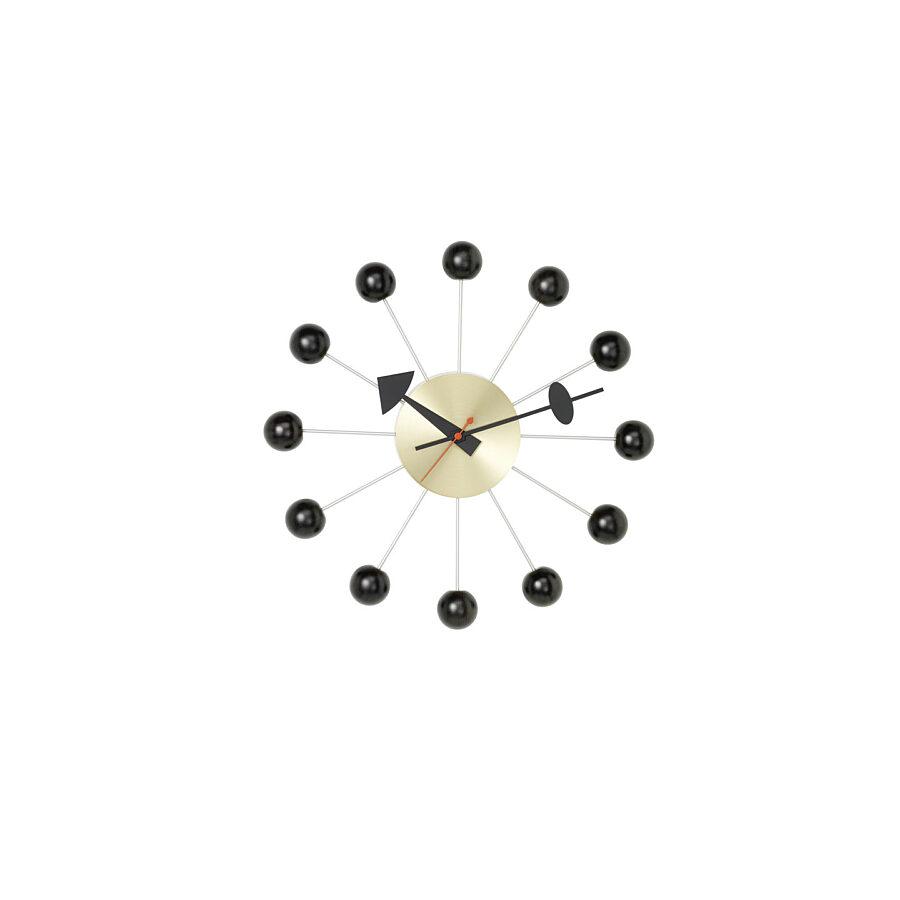 Vitra Ball Clock black/ brass