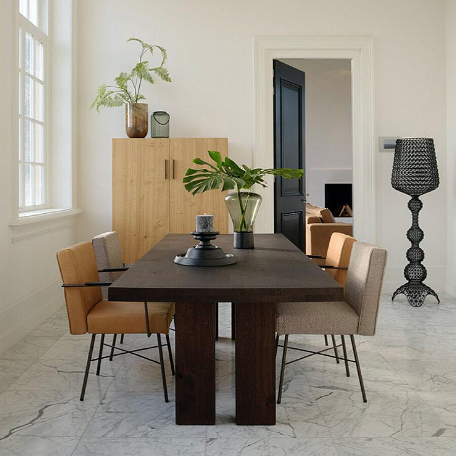 Bert Plantagie Brown - stoel Anise