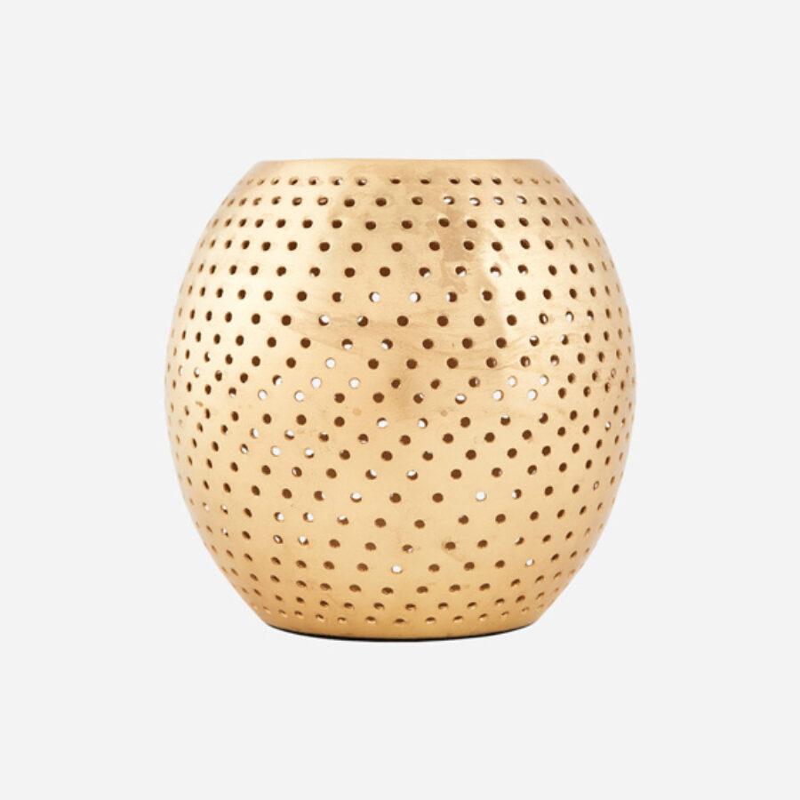 House Doctor - Tealight holder Net - Brass finish