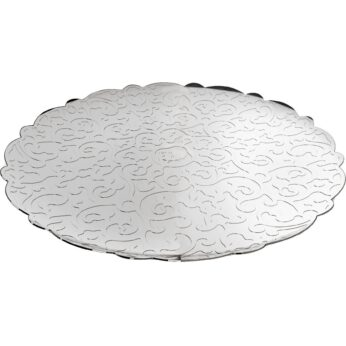 Alessi - Dressed round tray mirror polished