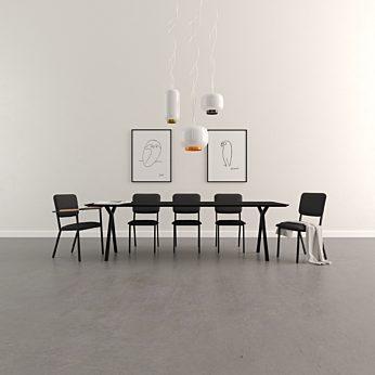 Studio Henk - Tafel Slim X-type