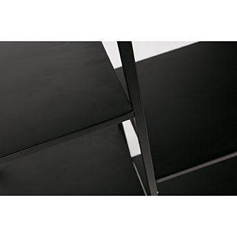 June metalen rek zwart 85cm