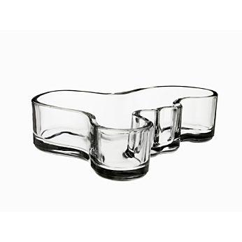 Iittala Aalto schaal helder 50x195mm