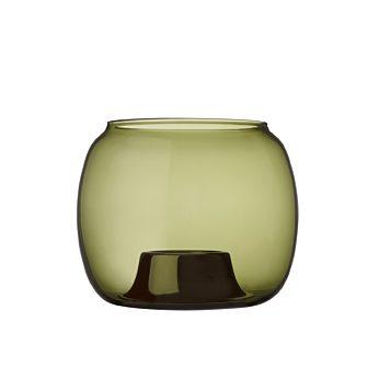 Iittala - Kaasa teal candleh. 141x115 mm. moss green - 1027710