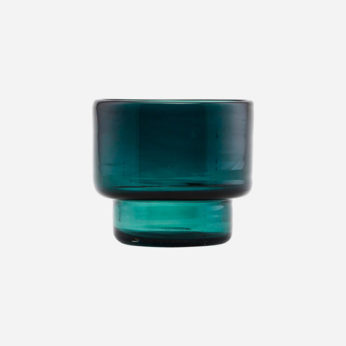 House Doctor Tealight candle stand Mute blue green Ds0511