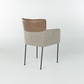 Bert Plantagie Brown - Stoel Lilac