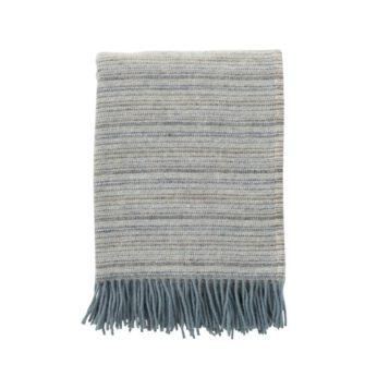 Klippan - Plaid Alaska kleur Lead grey - 130x200 cm.